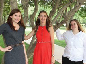 Madeline Akers, Lauren Tepera, and Alexandra England