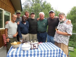Pictured, left to right: Preston Conrad, Jeff Harkinson, Darwin McKee, Phillip Diehl, Dave Pernell, Barry Johnston, Ashley Winn, and Greg Hill.