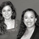 Victoria Briscoe '13 and Soha Nassef '13
