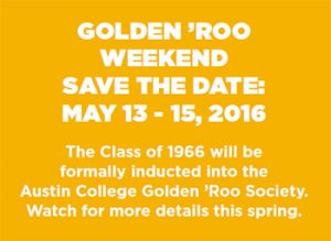 Golden 'Roo Weekend