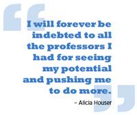 Alicia Houser Quote