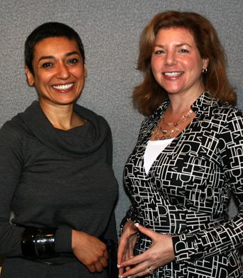 Zainab Salbi & Marjorie Hass