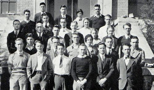 Charles Carrington Scott Chemistry Club