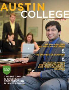 Austin College Magazine - Spring 2014
