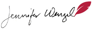 Jennifer Wenzel Signature
