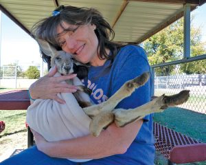 Jeanne and A Roo