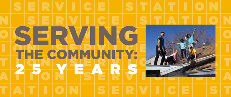 Serving the Community: 25 Years
