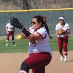 Softball Sets Record Strikeouts