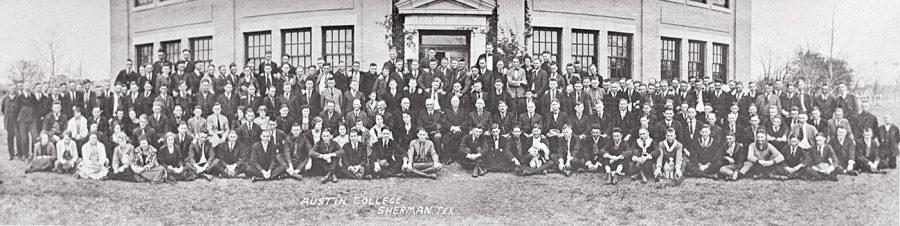 Austin College Student Body 1919