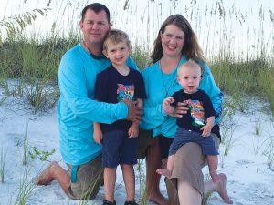 Clayton Scarborough Family