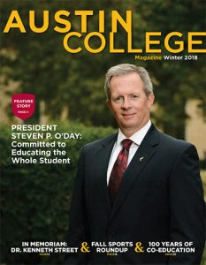 Austin College Magazine - Winter 2018
