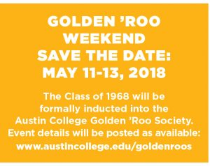 Golden 'Roo Weekend 2018