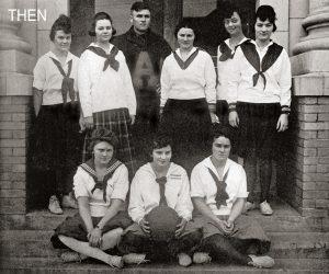 Women's Basketball Team 1918-1919