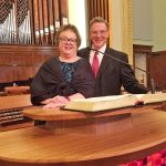 At the installation, Erich found his longtime Austin College friend Rev. Sallie Sampsell Watson '78, General Presbyter for Mission Presbytery, Texas.