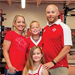 Jeff Riordan and family