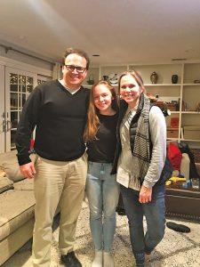 Olivia Berggren, daughter of Dr. Andy Berggren and Laura Reed Berggren (both '91)