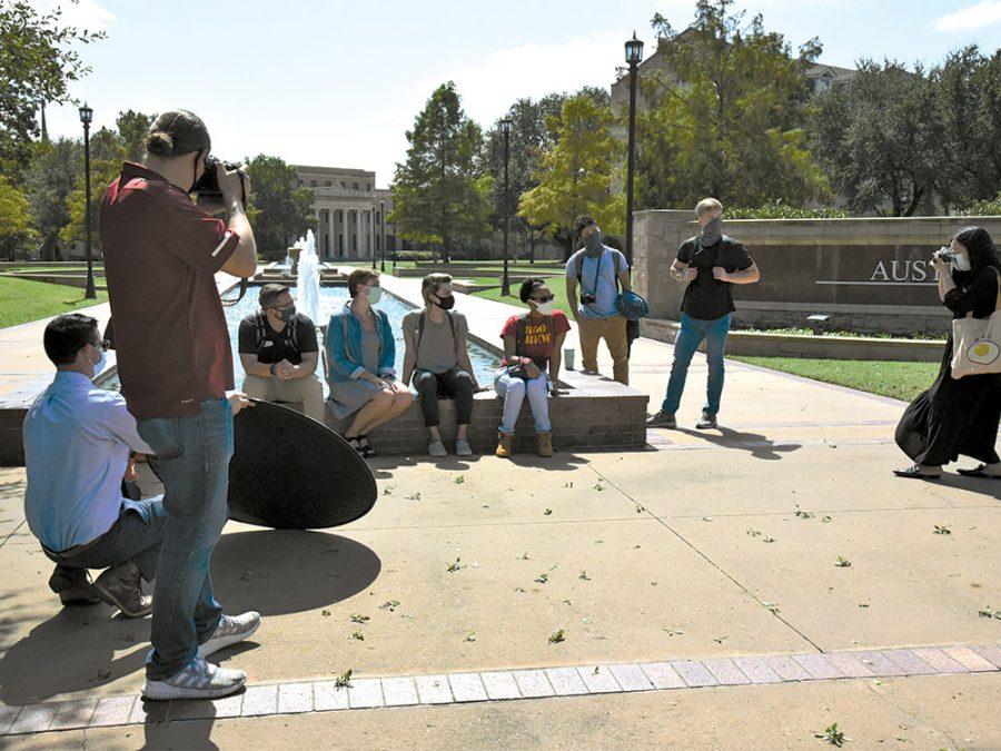 Student photo shoot